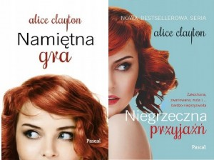 2 TOMY z serii 'The Redhead Series' Alice Clayton
