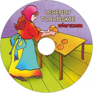 Legendy toruńskie wierszem CD audio